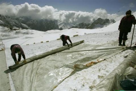 mantas para glaciares