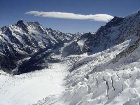 glaciares alpes
