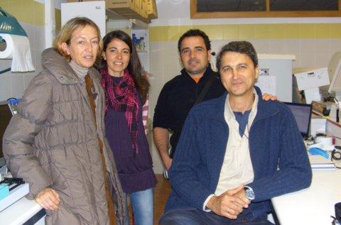 Equipo de expertos de la Universidad de Almería
