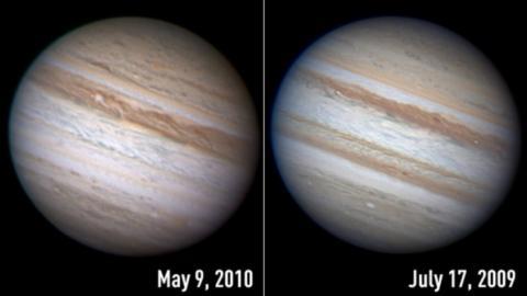 Desaparición en Júpiter