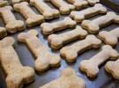 Galletas caseras de avena para perros
