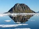 Se derrite el hielo y sube la temperatura en el Ártico