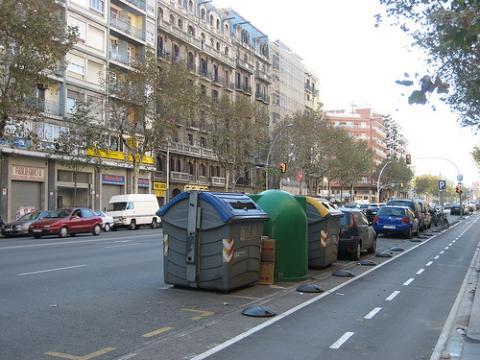 Reciclar enm Barcelona