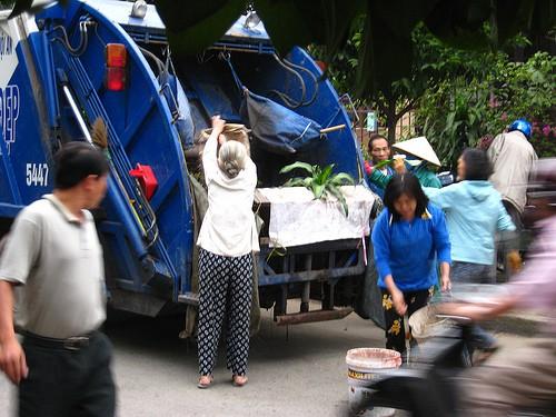el reciclado en España