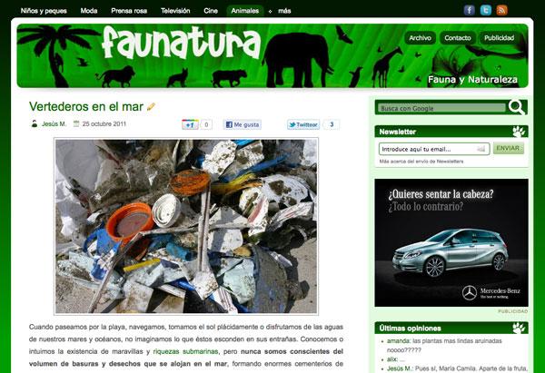 Faunatura estrena diseño