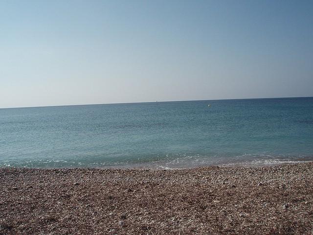 el Mediterraneo cuenta con grandes cantidades de sal
