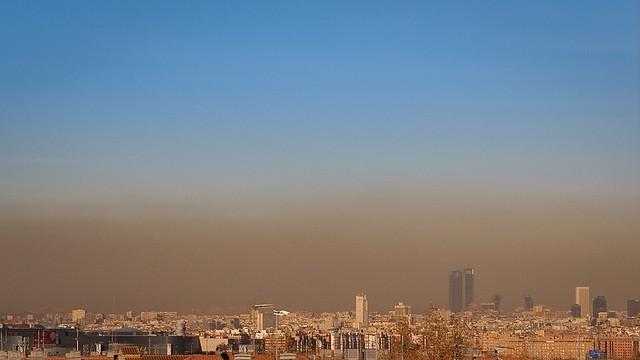 madrid y sus niveles de contaminacion