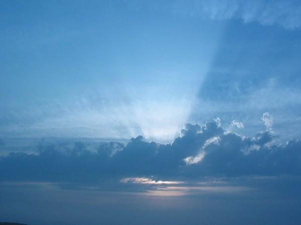 las nubes perdieron altura