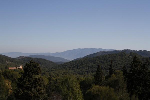 El Parque Natural de Sierra Espuña se halla en la cuenca del Segura, en Murcia