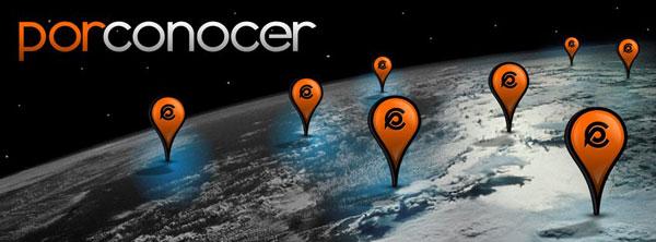 Mapa interactivo en PorConocer