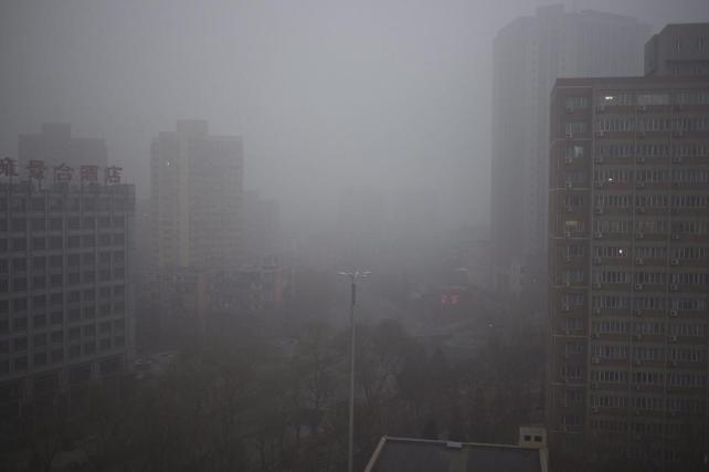 Capa contaminación Pekin