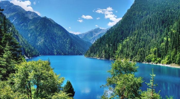 El precioso Valle de Jiuzhaigou, en China