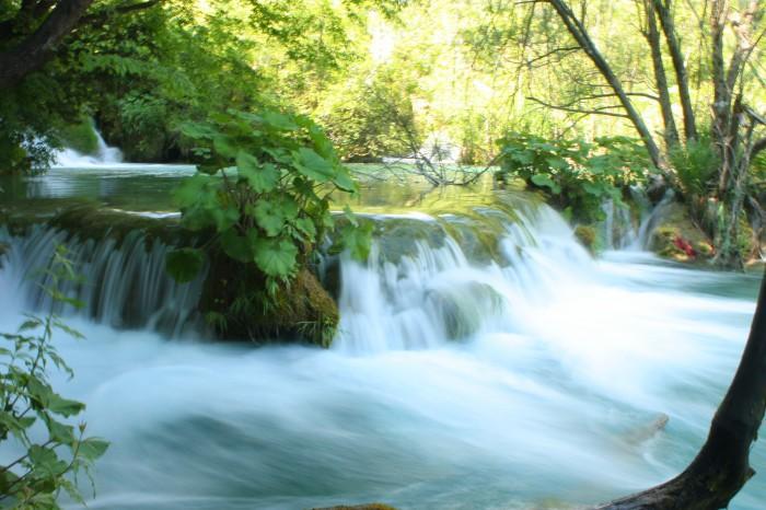 Parque Nacional de los Lagos de Plitvice, en Croacia