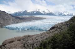 El Glaciar Grey, uno de los más impresionantes
