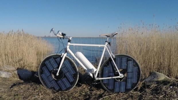 Solar Bike, la bicicleta eléctrica que utiliza la energía solar