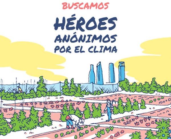 Greenpeace busca héroes anónimos por el clima
