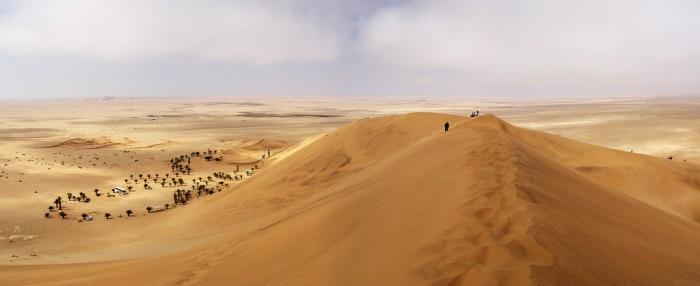 El desierto de Namibia, el único desierto costero del mundo