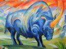 El unicornio siberiano, un rinoceronte que se extinguió hace 40.000 años