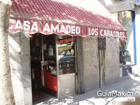 LOS CARACOLES – CASA AMADEO (MADRID)