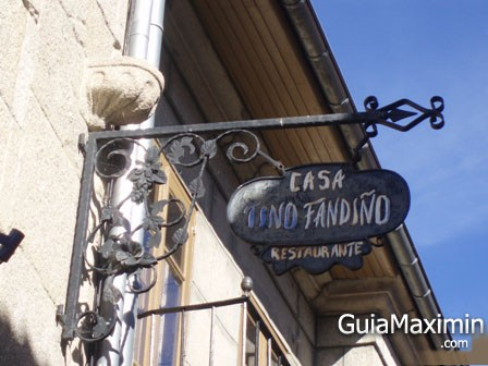 CASA TINO FANDIÑO ( ALLARIZ – OR )
