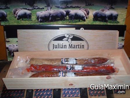 JULIAN MARTIN – FABRICA DE EMBUTIDOS ( GUIJUELO – SA )
