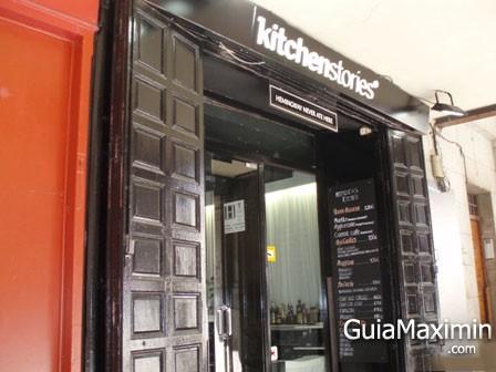 TABERNA RESTAURANTE BIENMESABE ( MADRID )