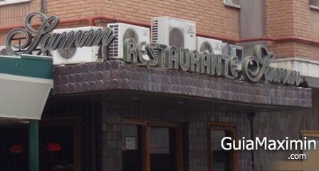 RESTAURANTE SAMM ( MADRID )