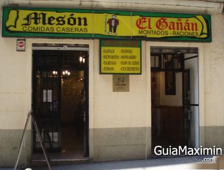 MESON EL GAÑAN ( MADRID )