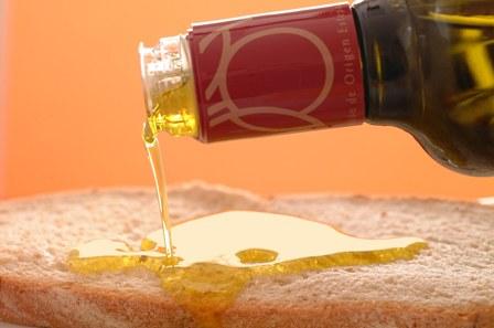 aceite de botella