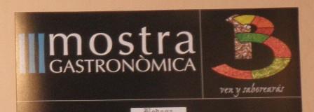 III MOSTRA GASTRONOMICA – PARTE I (BENISSA – A)