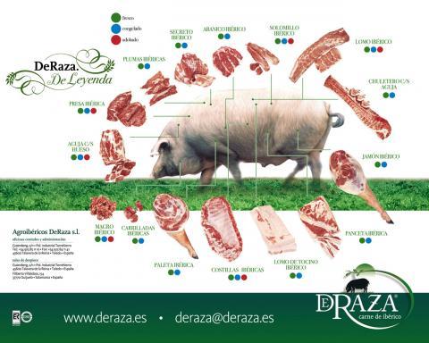 Despiece cerdo