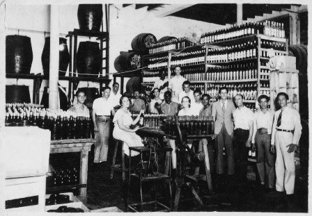 antigua fabrica ron matusalem