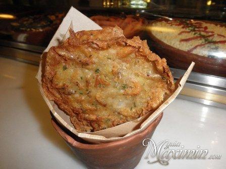 tortita de camarones