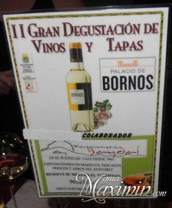 II GRAN DEGUSTACION DE VINOS Y TAPAS (CALPE-A)