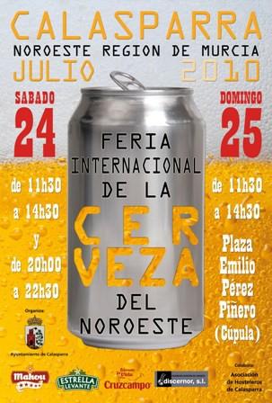 FERIA DE LA CERVEZA EN CALASPARRA (MURCIA)