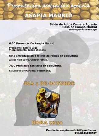 PRESENTACION ASAPIA MADRID (MADRID)