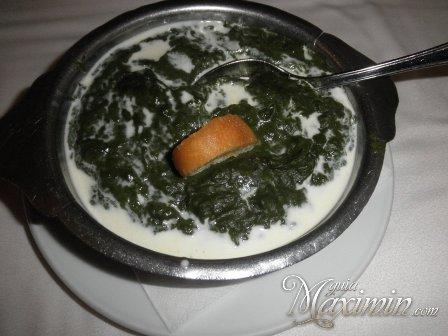 espinacas a la crema