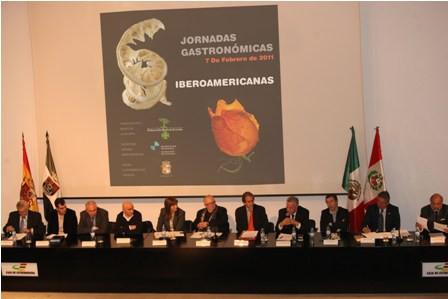 I JORNADAS DE LA GASTRONOMIA IBEROAMERICANA (CACERES)