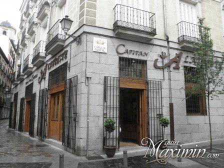 TABERNA DEL CAPITAN ALATRISTE (MADRID)