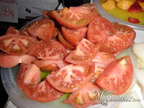 tomate cortado