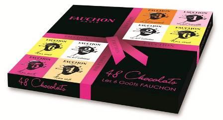 estuche chocolates cuadrados