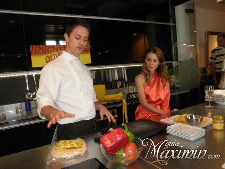 cocinero y elena
