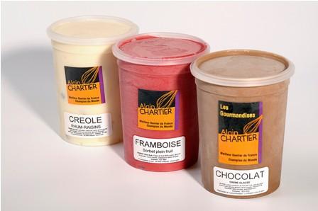 helados variados