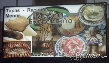 MESON EXTREMEÑO (GUADALUPE – CC)