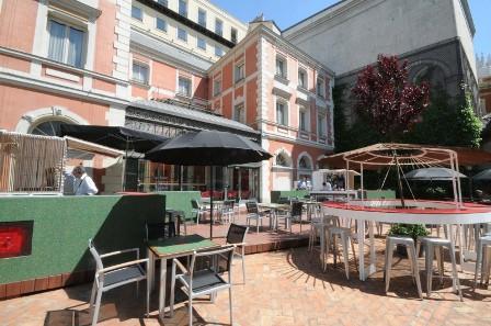 Terraza le cabrera casa de america madrid for Restaurante casa america terraza
