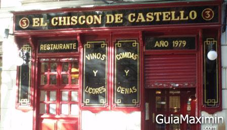 RESTAURANTE EL CHISCON (MADRID)