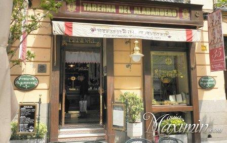 Menu Caza y Setas – Taberna del Alabardero (Madrid)