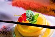 Naranja y chocolate (texturas de  naranjas, crema de chocolate y aceite de oliva), Surtopía