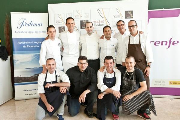 Madrid Fusion con los ganadores de Cocinero revelacion