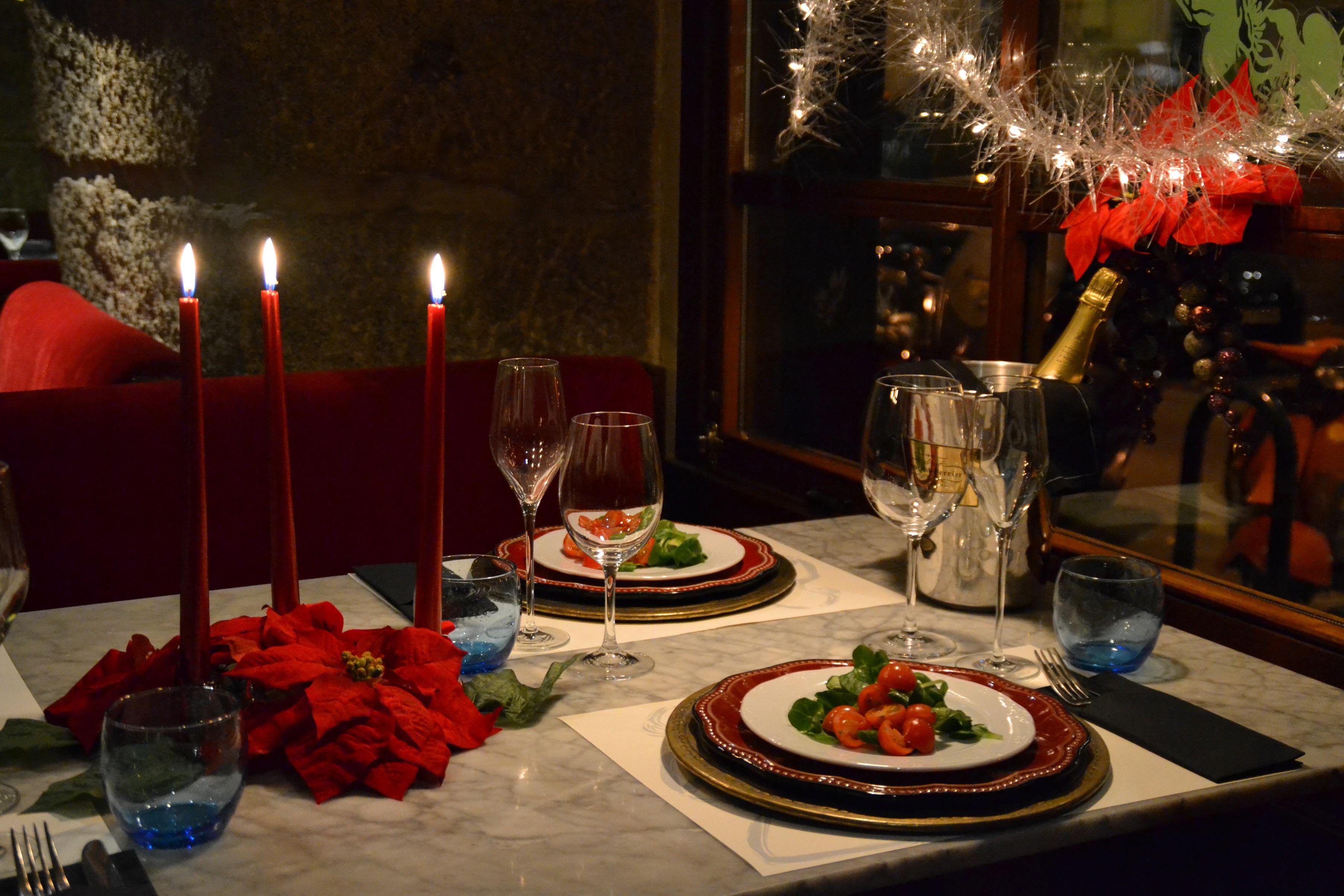 Cafe oliver mesa navidad - Mesa de navidad decorada ...